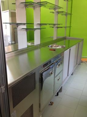 Arredamento gelateria servizi lavori eseguiti arredamenti for Arredamenti vercelli