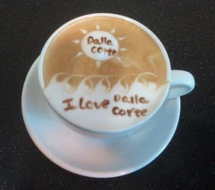 Cappuccino perfetto corsi foto latte art arredamenti for Latte arredamenti